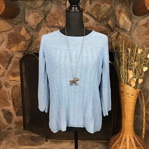 Charter Club   Sweater   Baby Blue   M